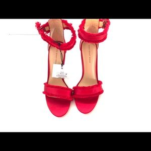 Fire Red Sandals